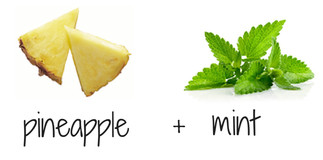 pineapple + mint