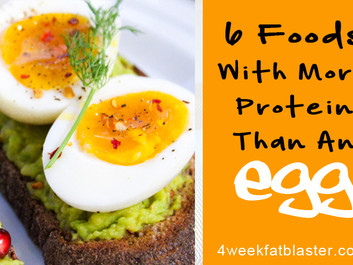 6 Foods with More Protein Than an Egg