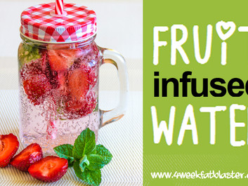4 Yummy Fruit Infused Water Recipes