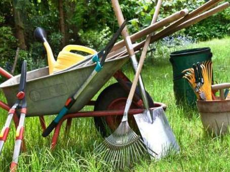 Razkuževanje v vrtnarstvu in kmetijstvu