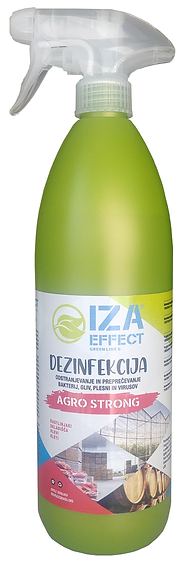 IZA EFFECT green line 6 - AGRO STRONG - 900ml