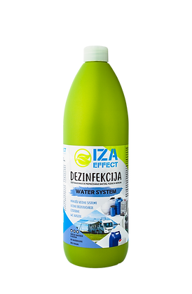 IZA EFFECT green line 6 - WATER SYSTEM - 900ml