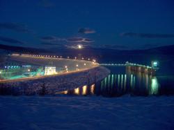 WAC at night entry dam