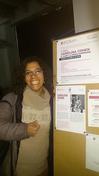 """3º clínica de estilos CERPS: """"El cajón peruano y la música Afroperuana"""""""