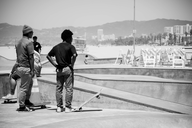 Venice Beach relaxing