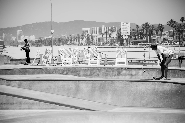 Venice Beach drop-in