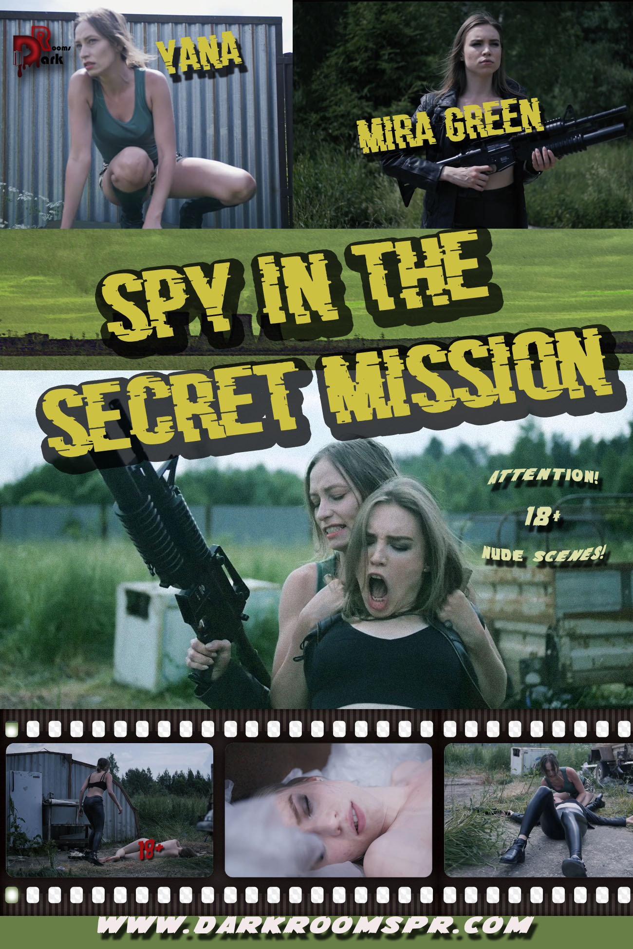 SPY IN THE SECRET MISSION