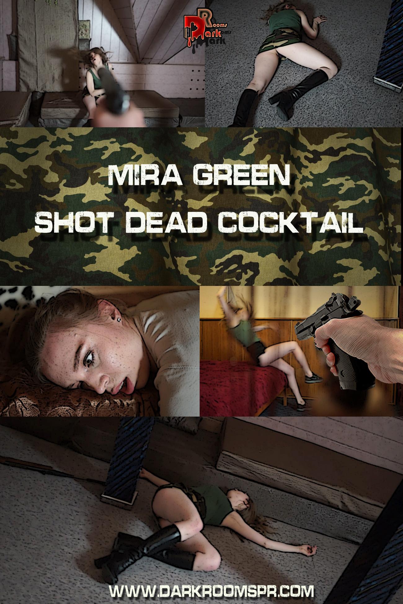 MIRA GREEN SHOT DEAD COCKTAIL