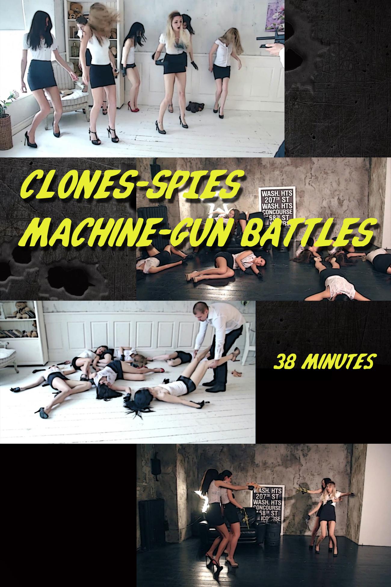 Clones Spies Battles