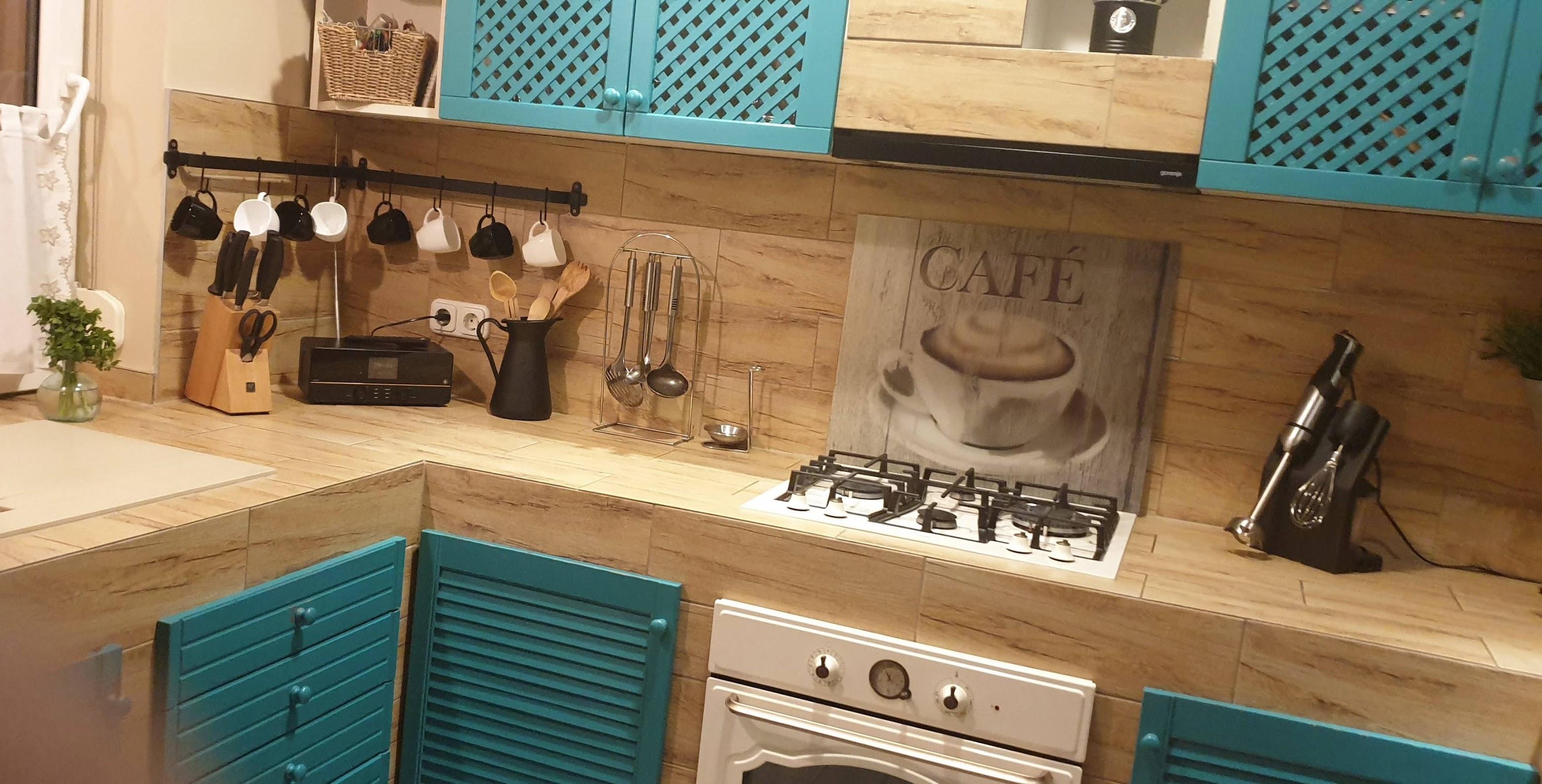 Türkiz konyha praktikus részletekkel