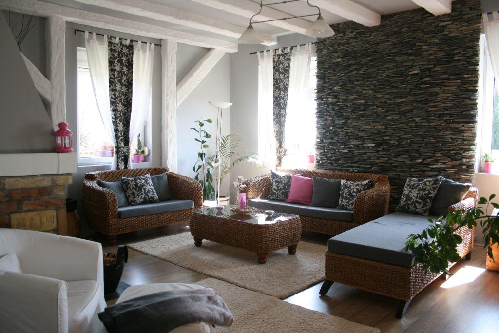 Az átalakított nappali balról