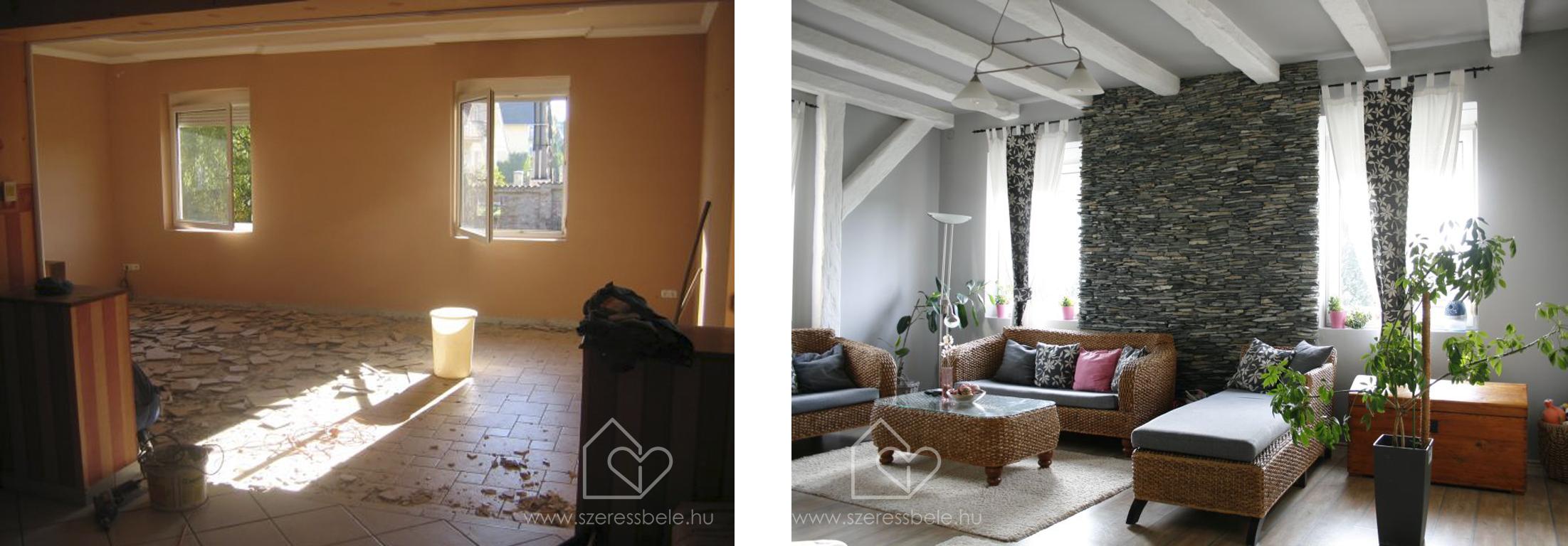 A nappali átalakulása: költözünk!