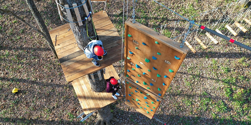 Ropes Course at  Barton Orchards