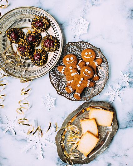 Ziemassvētkus piparkūkas