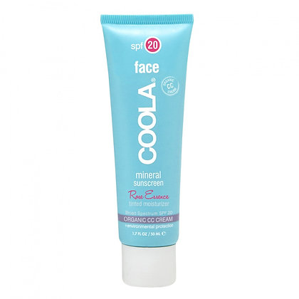 Coola Suncare Mineral Face Lotion SPF 20 Tinted Rose