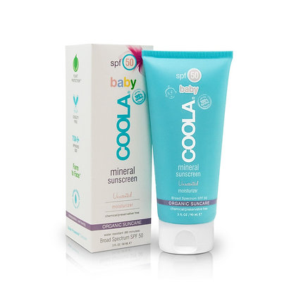 Coola Suncare Mineral Baby Organic Sunscreen Lotion SPF 50