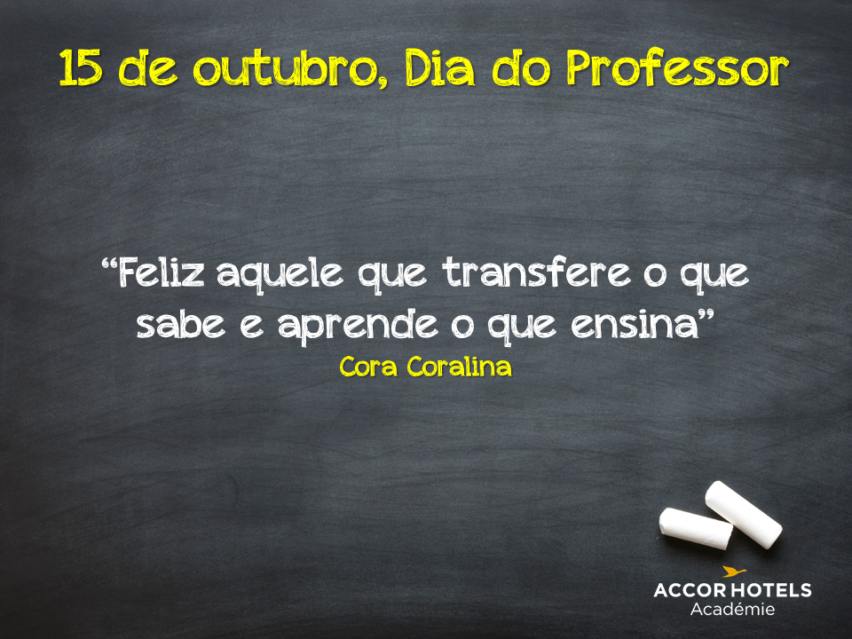 Dia do Professor - Accor