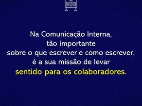 Comunicação que dá sentido para as pessoas.
