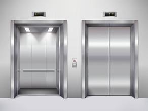 A cultura da empresa, todos os dias, sobe e desce o elevador.