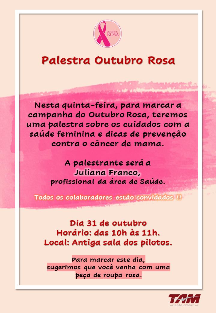 Outubro Rosa TAM