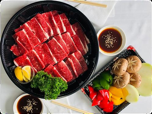 """""""WAGYU"""" Brisket BBQ Set  燒烤用日本產黑毛和牛胸部切片套餐(兩人用)400g"""