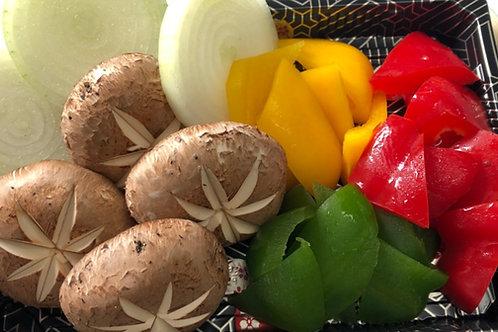 Extra BBQ Vege |追加燒烤用蔬菜