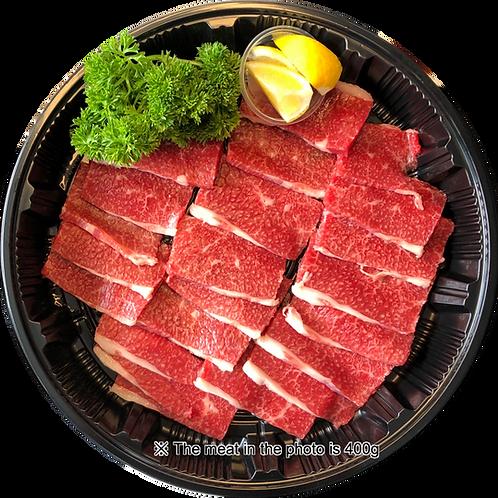 """WAGYU"" Brisket BBQ Sliced |燒烤用日本產黑毛和牛胸部切片1Kg"