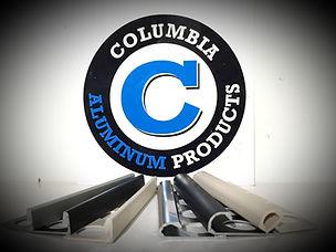 Columbia Aluminum Product Logo With Floor Trims