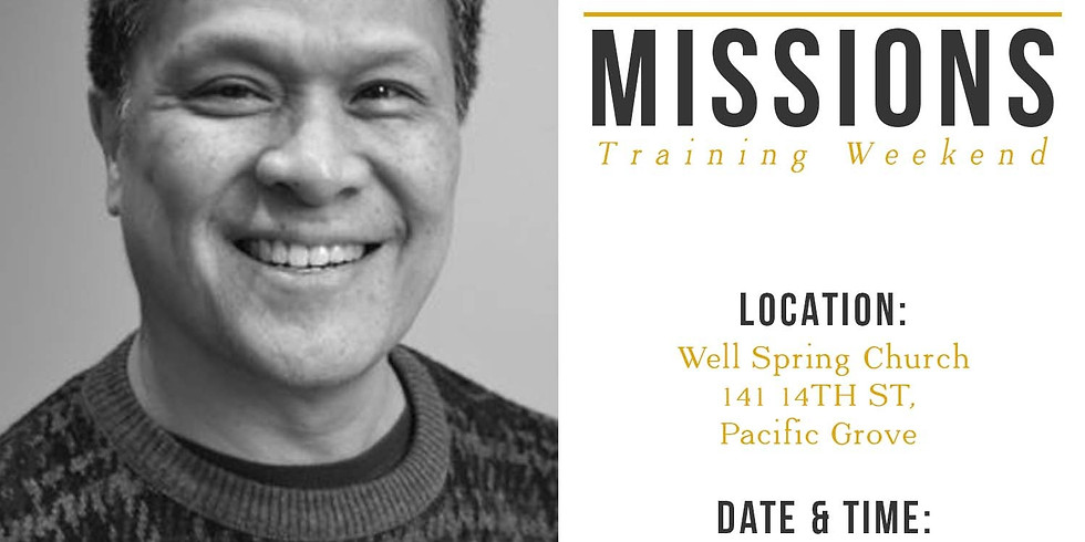 Missions Training Weekend  (RSVP)