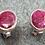 Thumbnail: Gemstone Earring Studs: Ruby