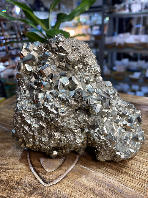 Pyrite Large Clusters