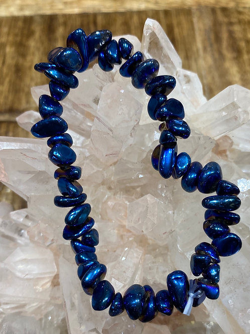 Blue Aura Bracelets
