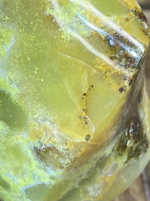 Flame: Green Opal