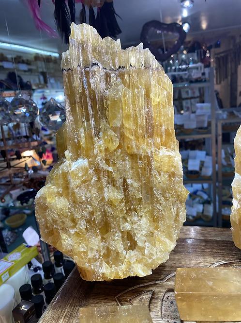 Honey Calcite Natural