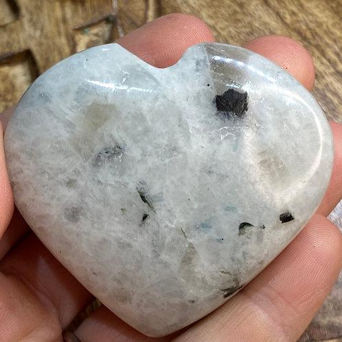 Heart: Moonstone Rainbow