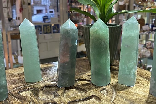 Points: Fluorite Green