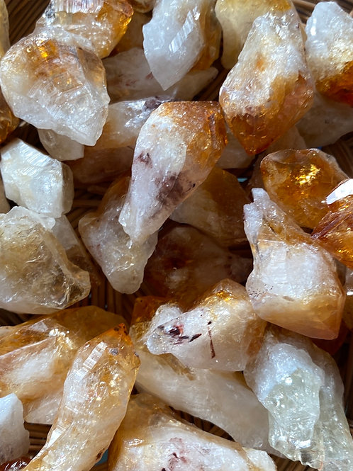 Citrine Points Small