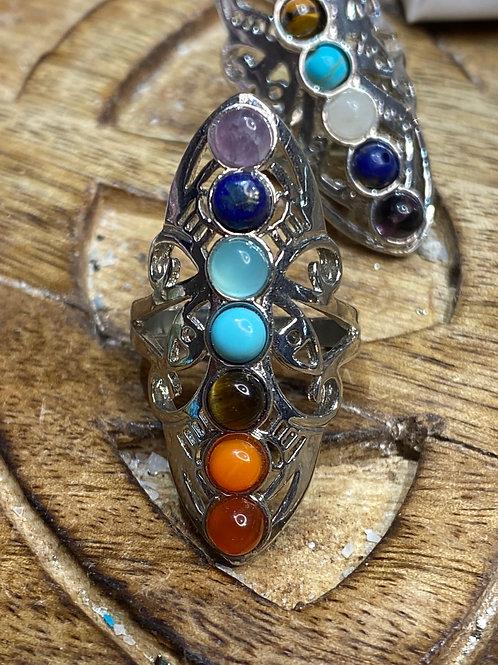 Chakra Ring: Adjustable