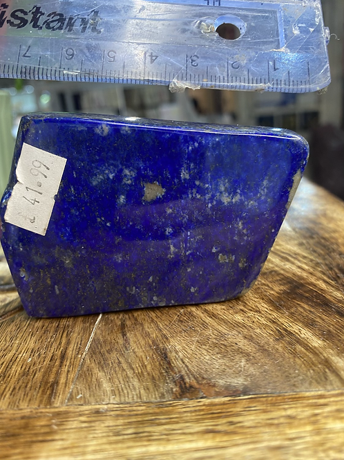 Lapis Lazuli Fully polished Freeform
