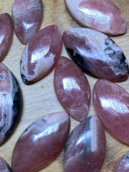 Sacred Eye: Rhodochrosite small