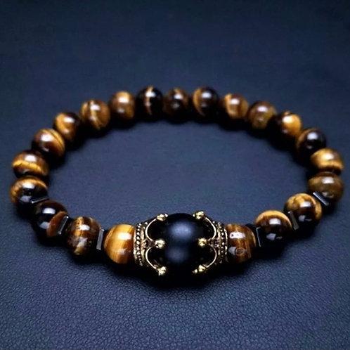 Power Bead Healing Bracelets:Tiger Eye