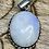 Thumbnail: Moonstone Sterling Silver Pendants (No 5)