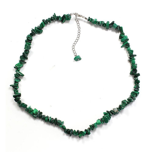 Necklace:  Malachite