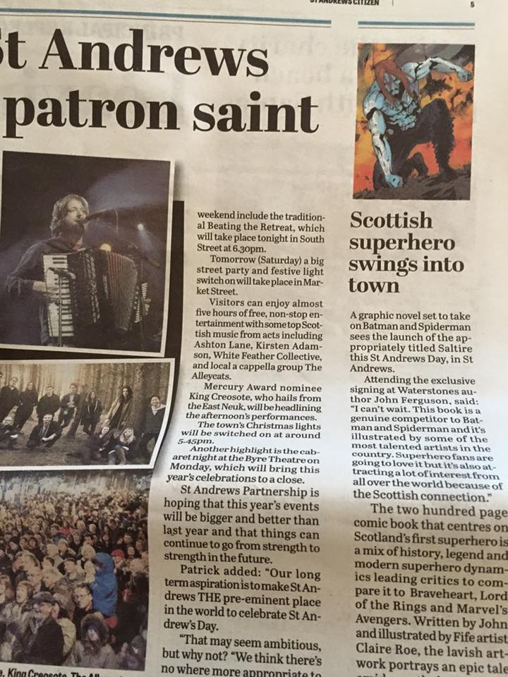 Scottish Superhero