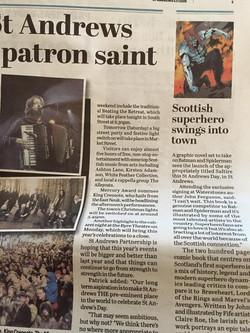 Scottish Superhero