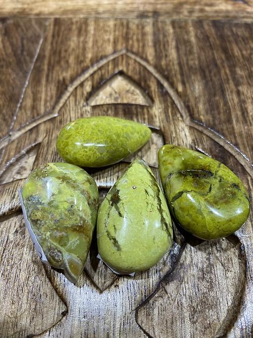 Crystal Tear Green Opal
