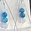 Thumbnail: Apatite & Quartz pendant & earrings