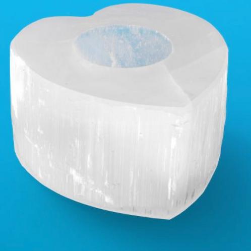 Selenite T light holder Special