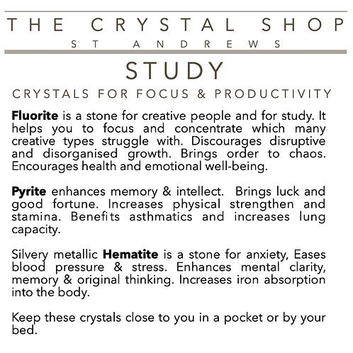 Crystal Healing Box STUDY