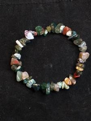 Gemstone chip Bracelets (All types simple)